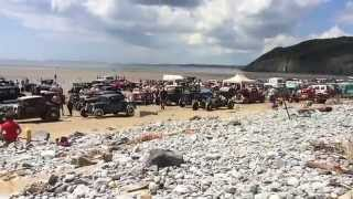 Pendine Sands Hot Rod Races - Sandyman Chop Shop Edit