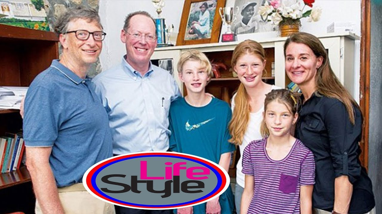 Bill Gates Family With Parents Wife Son And Daughters Photos Youtube