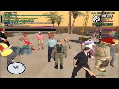 Grand Theft Auto San Andreas Multiplayer Párty na Ostrově ( 22.9.2012 )