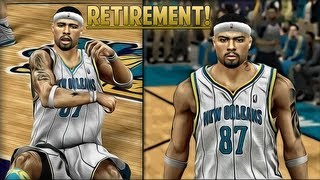 NBA 2K13 My Career - Episode 29 - The Unexpected Retirement | NBA Playoffs VS. Lakers RD 2 GM 7