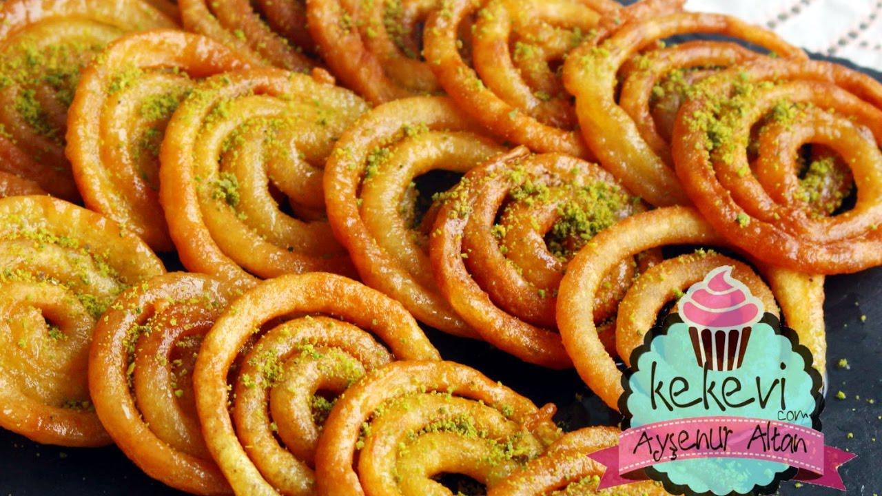 Jalebi Tatlısı Tarifi  (Hint Halka Tatlısı) | Ayşenur Altan Yemek Tarifleri