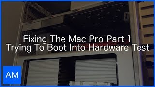 Скачать Fixing The Mac Pro Part 1 Trying To Boot Into Hardware Test