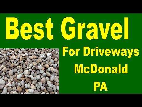 Best Gravel For Driveways McDonald PA