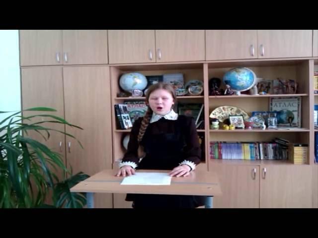 Изображение предпросмотра прочтения – МарияЗайцева читает произведение «К Чаадаеву» А.С.Пушкина