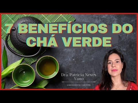 7 Benefícios do CHÁ VERDE!