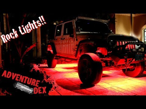 how-to-install-led-rock-lights-on-a-jeep!!
