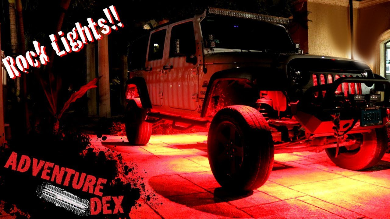 medium resolution of how to install led rock lights on a jeep