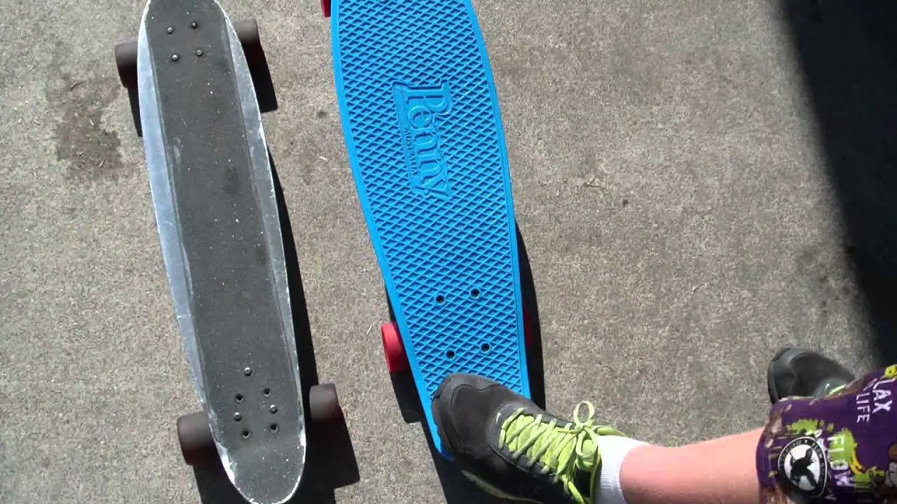 new school vs old school skateboards penny nickel youtube