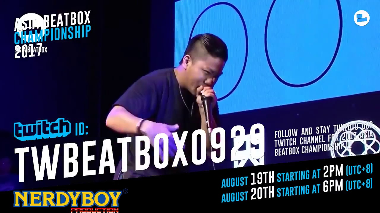 Follow Asia Beatbox Twitch Channel !! Stay tuned to ABC17 ...