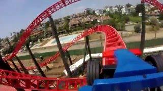 Viaport Tuzla Marina Red Fire Roller Coaster Viasea Turkey