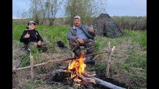 Рыбалка с Сыном,КАРАСЬ начало..Часть 3 заключительная..