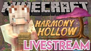 house build livestream   harmony hollow modded smp season 2