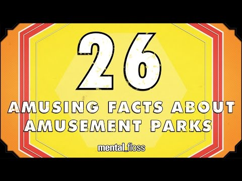 26 Amusing Facts About Amusement Parks - mental_floss List Show (Ep.218)