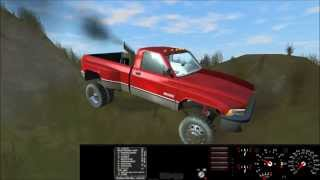 Best car physics game: Rigs of Rods - Dodge Cummins 12v