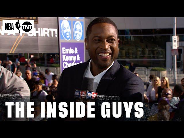 Miami Heat Legend Dwyane Wade Joins the NBA on TNT Family