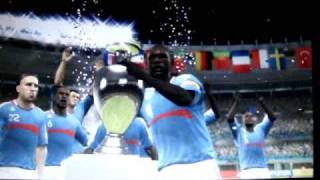 Euro 2008 xbox 360 gameplay footage with a great song