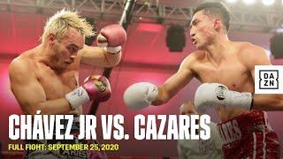 FULL FIGHT   Julio César Chávez Jr. vs. Mario Abel Cazares