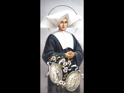 Sainte Catherine Labouré, celle qui vit la Vierge (+ 1876), par Arnaud Dumouch