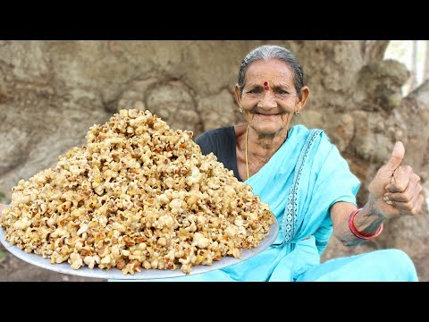 Caramel Popcorn Recipe By My Grandma || Myna Street Food
