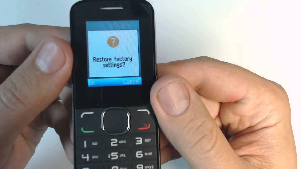 Alcatel OT 1060 hard reset