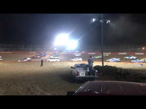 100 lap 14,000 to win SCDRA Feature event at Screven Motor Speedway