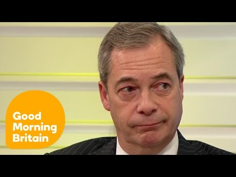 Nigel Farage Is Worried About the Rest of Europe | Good Morning Britain