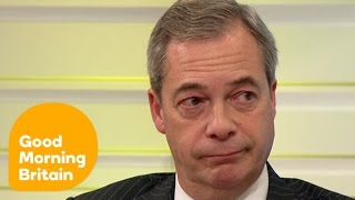 Nigel Farage Is Worried About the Rest of Europe   Good Morning Britain