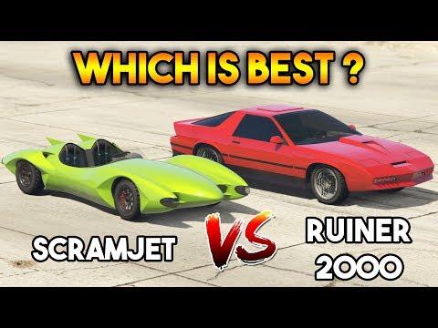 GTA 5 ONLINE : SCRAMJET VS RUINER 2000 (WHICH IS BEST?)