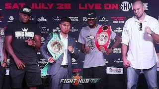 MIKEY GARCIA VS ROBERT EASTER JR - THE FULL FINAL PRESS CONFERENCE VIDEO