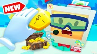 VACATION BOT DIVES FOR SECRET TREASURE (Vacation Simulator VR HTC Vive Funny Gameplay)