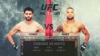 UFC Fight Night Condit vs Alves en vivo por UFC NETWORK