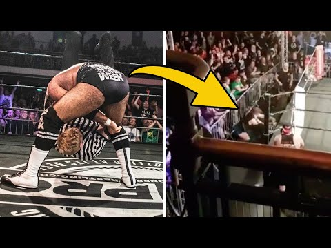 Wrestler Shoot Attacks Ref After Botched Finish