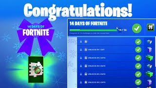 Day 1 REWARD - Start or Join a Creative Server - 14 Days of Fortnite Challenges for Free Rewards