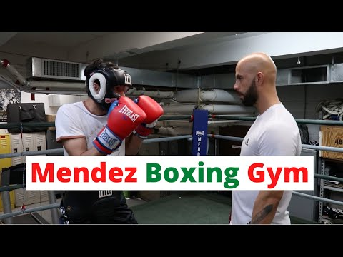 Boxing At NYC's Mendez Boxing Gym - Whatta Town!