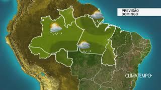 Previsão Norte - Chuvas intensas na região