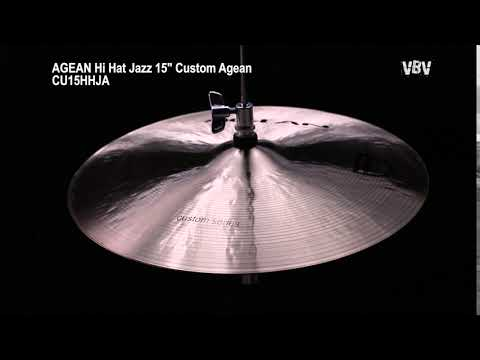 "15"" Hi Hat Jazz Custom video"