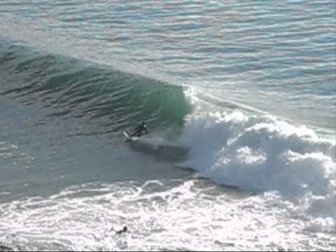 Surfing, Dunedin, South Island, New Zealand