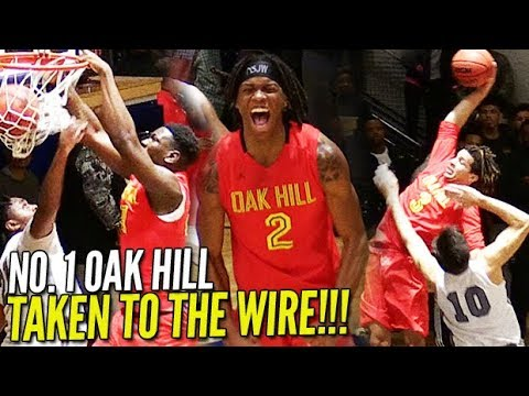 Cole Anthony & Oak Hill HEATED GAME Down TO THE WIRE! Cole Anthony STEPS UP IN CLUTCH!