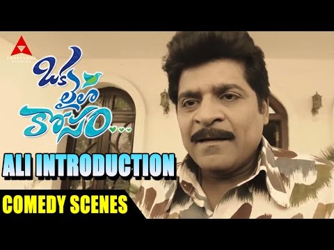Ali Introduction Comedy Scenes - Oka Laila Kosam Movie - Naga Chaitanya, Pooja Hegde