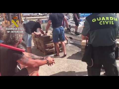 Spanish Civil Guard Seize 15 Tonnes of Hashish Off Murcia