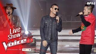 ชาติ เก่ง สงกรานต์ - การเดินทาง ยังไงก็ไม่ยัก โอ้เธอ - Live Show - The Voice Thailand -  25 Feb 2018