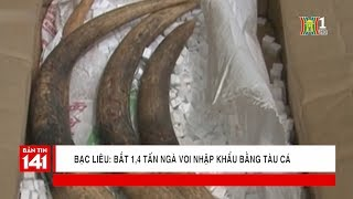 Bạc Liêu: bắt 1,4 tấn ngà voi nhập khẩu bằng tàu cá | Tin nóng | Tin tức 141