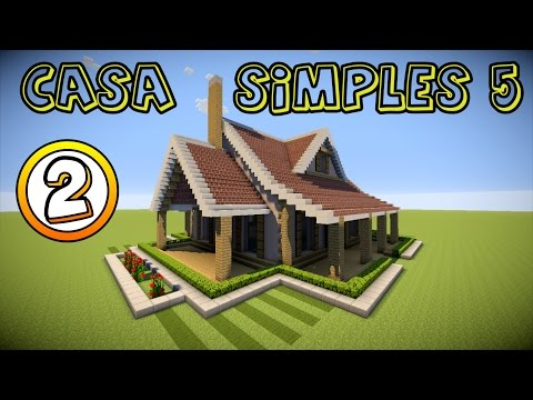 Download video minecraft como fazer uma casa simples 5 for Casa moderna madera minecraft