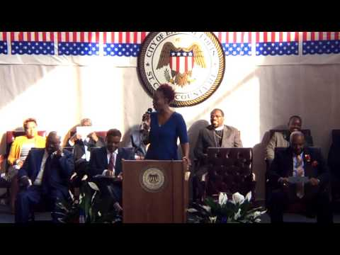 @2017 East St Louis IL City Council Inauguration Day