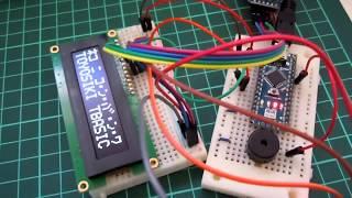 豊四季タイニーBASIC for Arduino機能拡張版 PLAYコマンドデモ
