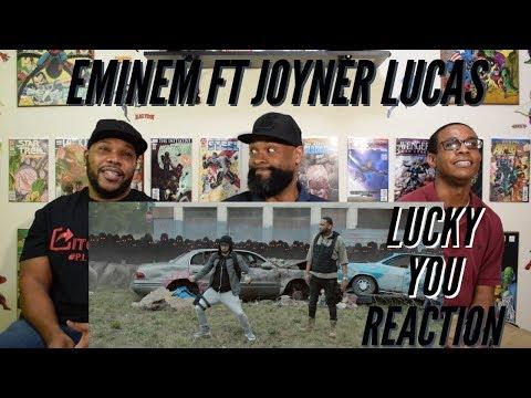 Eminem Ft Joyner Lucas Lucky You Reaction