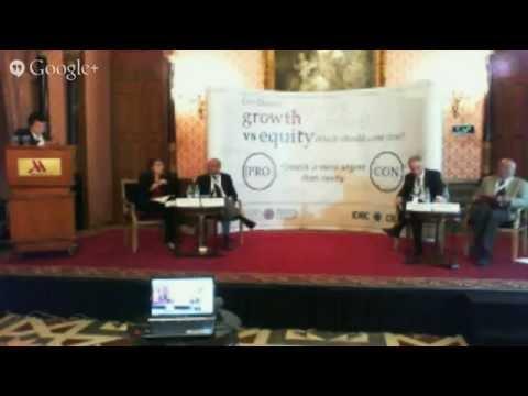 #DevtIDEAS Debate: Growth versus Equity