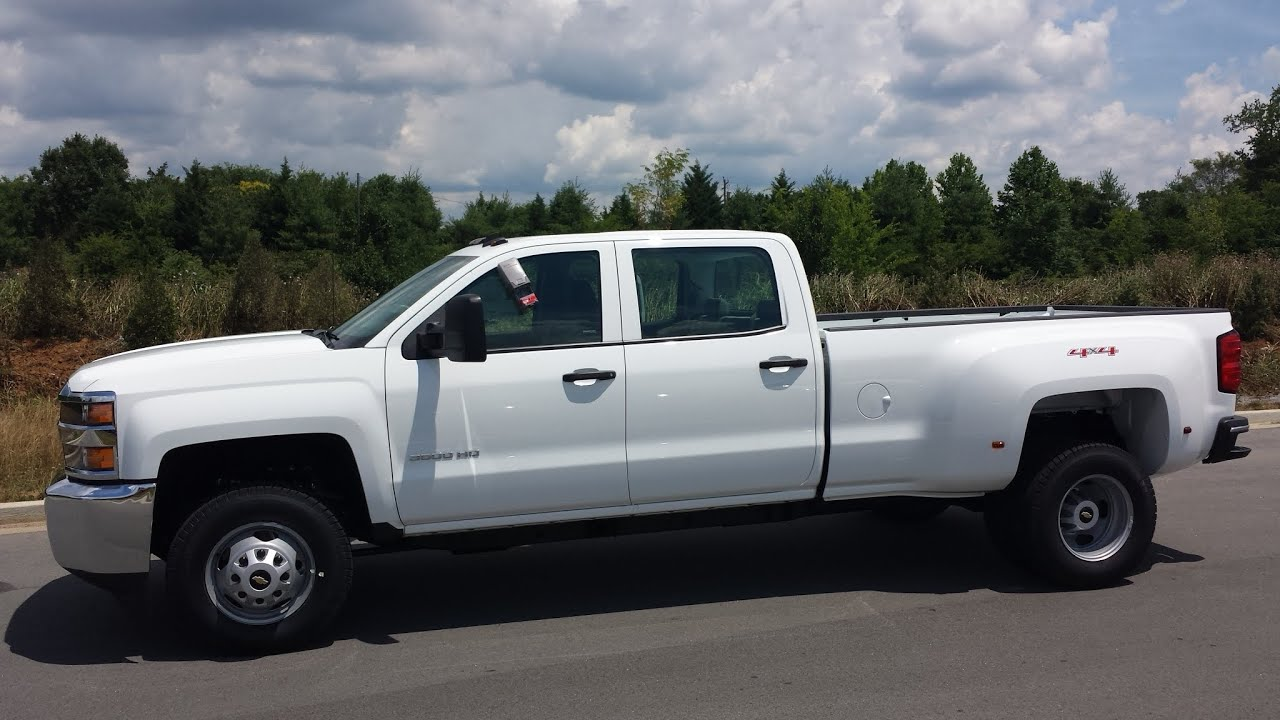 Sold 2015 Chevrolet Silverado 3500 Hd Drw 4x4 Wt 6 0l