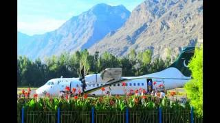 PIA flight from gilgit to islamabad