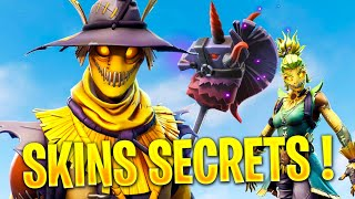 SKINS SECRETS - NEWS OF THE MAJ 6.01 ON FORTNITE!
